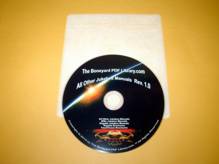 All Other Jukeboxe Manuals DVD